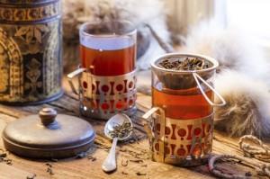 Préparation de thé bio
